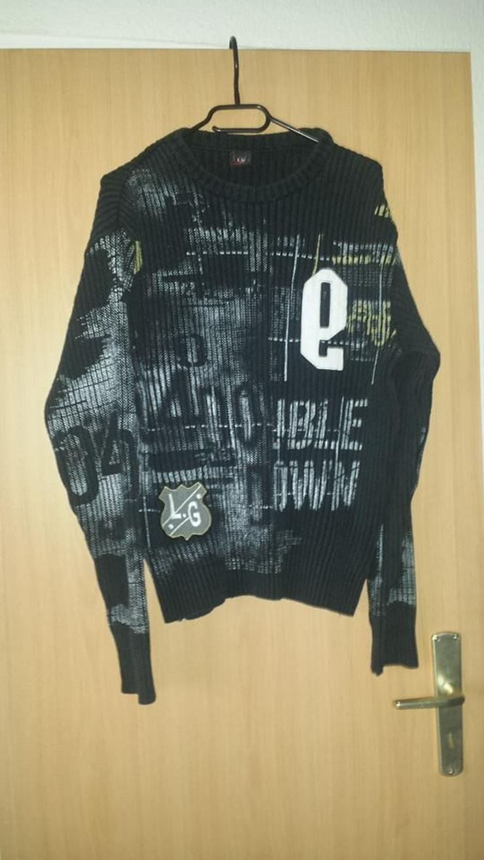 Bild 2: Pullover, Herren, Stylisch, gr. M schwarz