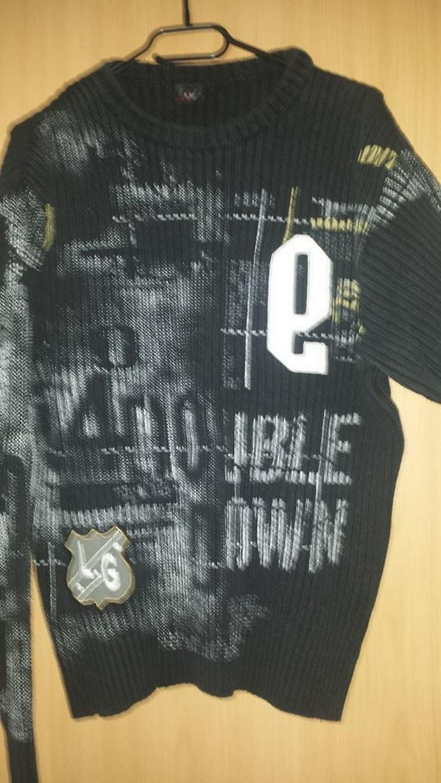 Bild 3: Pullover, Herren, Stylisch, gr. M schwarz
