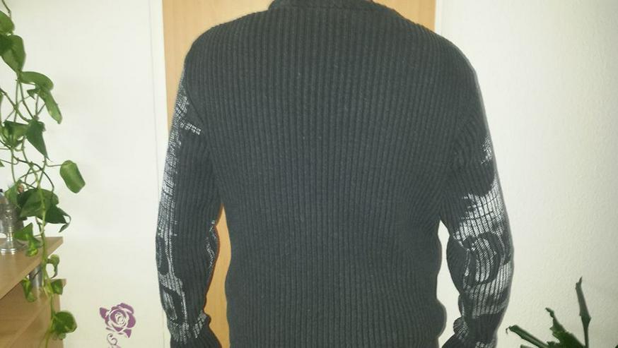 Bild 4: Pullover, Herren, Stylisch, gr. M schwarz