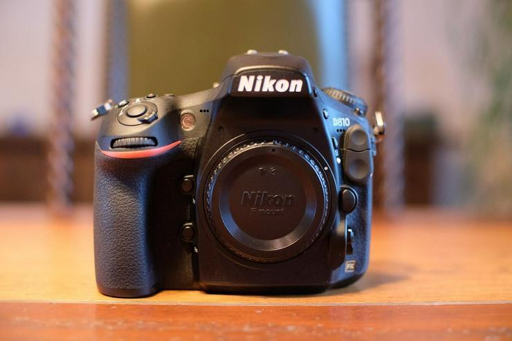 Nikon D810 Body, CH Garantie, neuwertig
