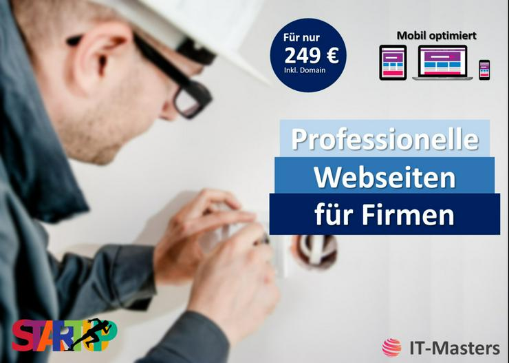 Firmen Webseite, gratis Entwurf, Homepage