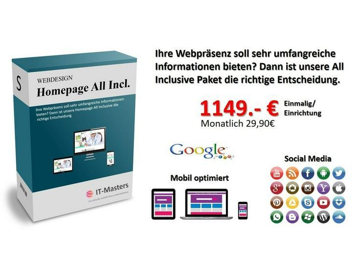 Bild 4: Firmen Webseite, gratis Entwurf, Homepage