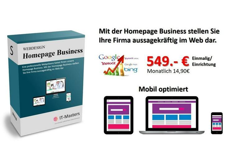 Bild 3: Firmen Webseite, gratis Entwurf, Homepage