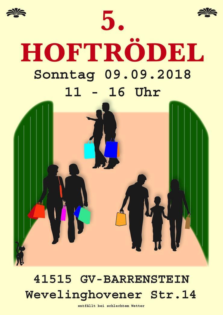 Hoftrödel, Trödel, Barrenstein, 9.9.18 ab 11