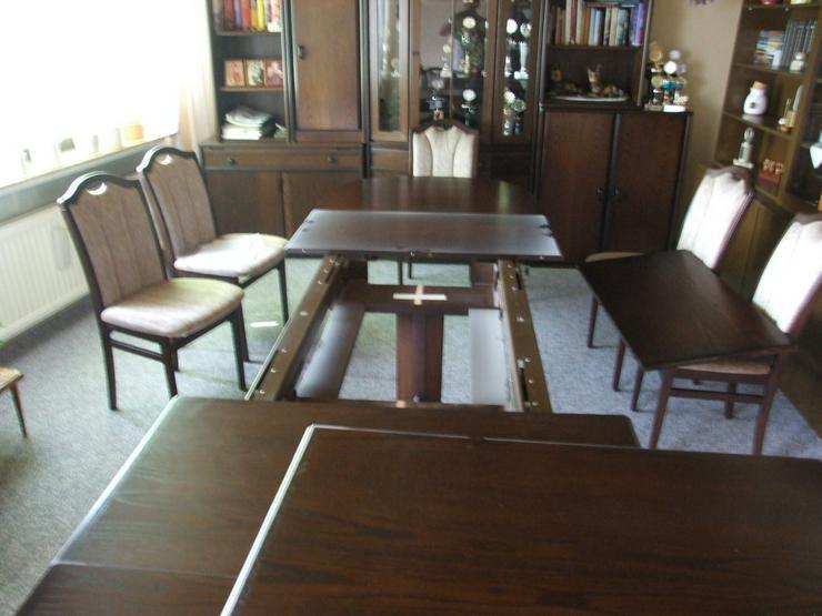 Bild 2: Esszimmer Tisch bis 3,50m ausziehbar!