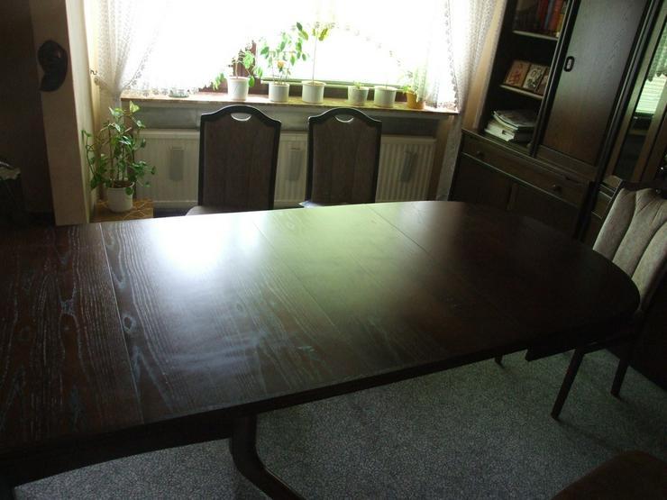 Bild 4: Esszimmer Tisch bis 3,50m ausziehbar!