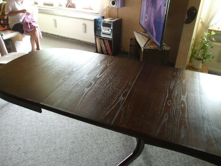 Bild 5: Esszimmer Tisch bis 3,50m ausziehbar!