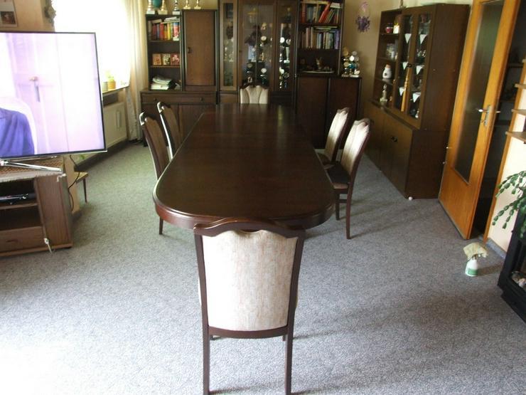 Bild 6: Esszimmer Tisch bis 3,50m ausziehbar!