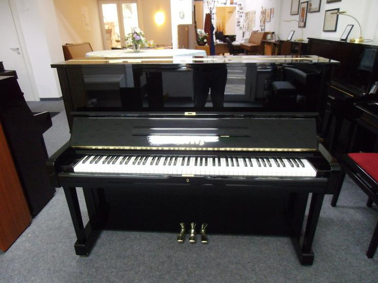 Yamaha U 1 Klavier, schwarz glänzend