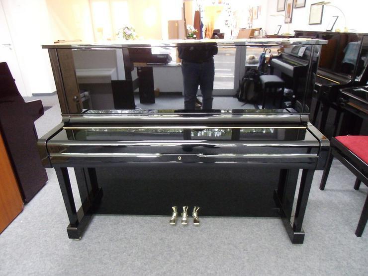 Bild 5: Yamaha U 1 Klavier, schwarz glänzend