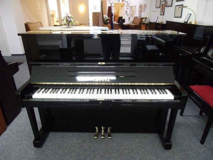Bild 6: Yamaha U 1 Klavier, schwarz glänzend
