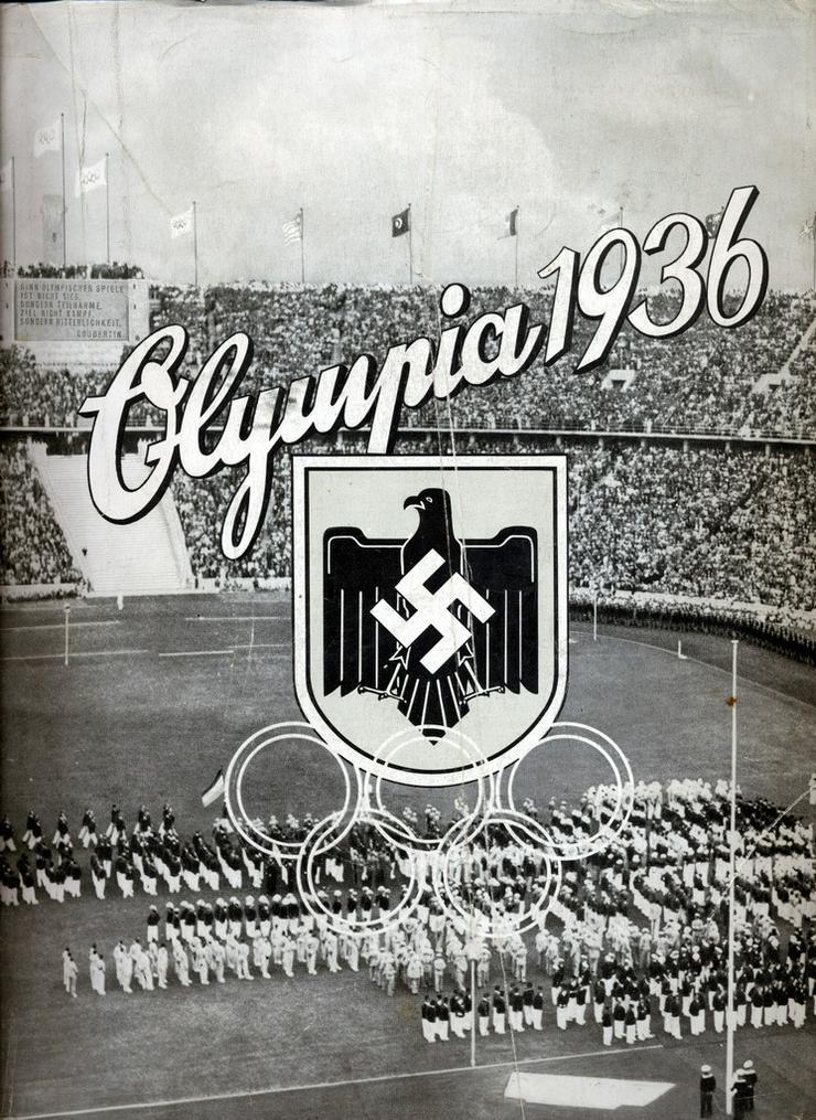 Komplettverkauf 23 Bildbände Olympia Sommer+Winterspiele ab'36