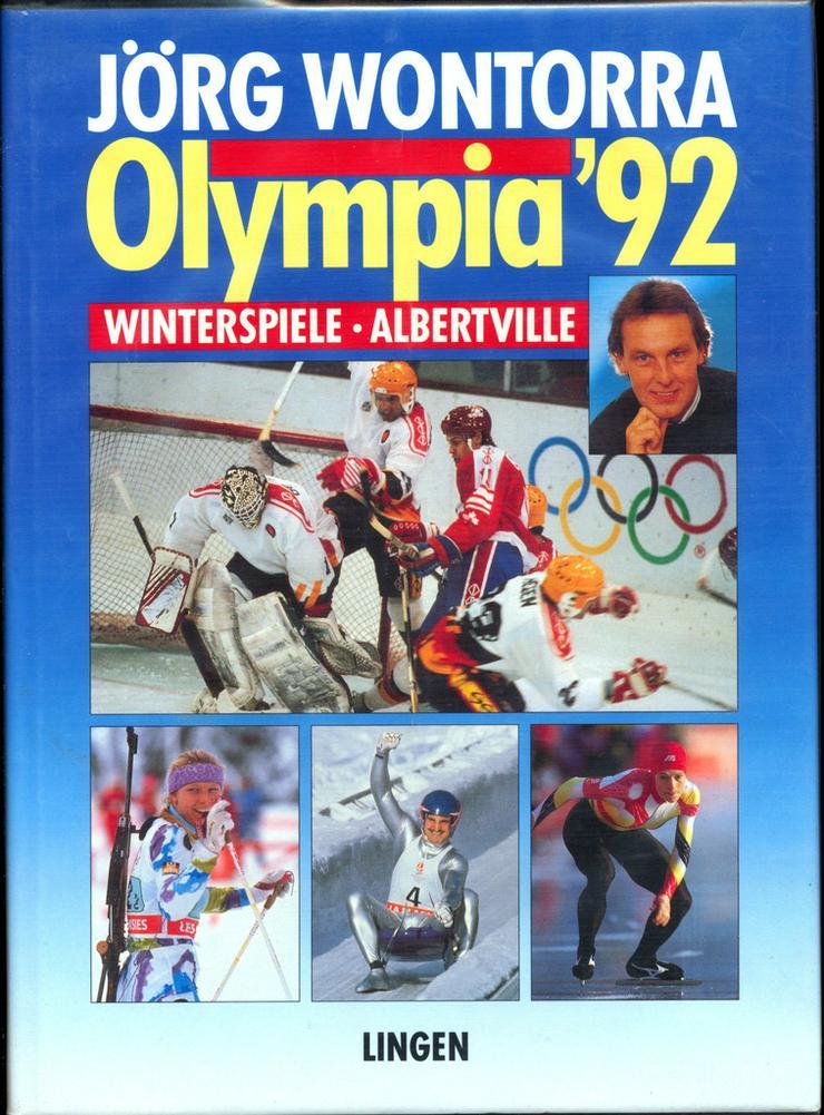 Bild 3: Komplettverkauf 23 Bildbände Olympia Sommer+Winterspiele ab'36