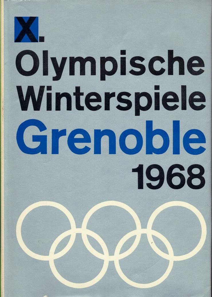 Bild 5: Komplettverkauf 23 Bildbände Olympia Sommer+Winterspiele ab'36