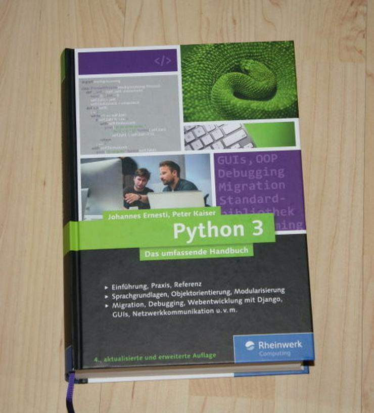 Python 3 Das umfassende Handbuch Programmierung - Computer & IT - Bild 1