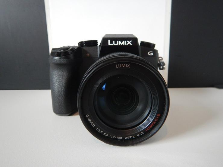 Lumix DMC-G70H HEG-K 14-140mm 4K Systemkamera