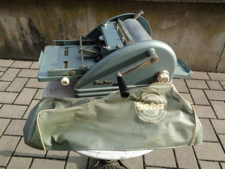 Sehr alte Maschine MechanischeTrommeldrucker
