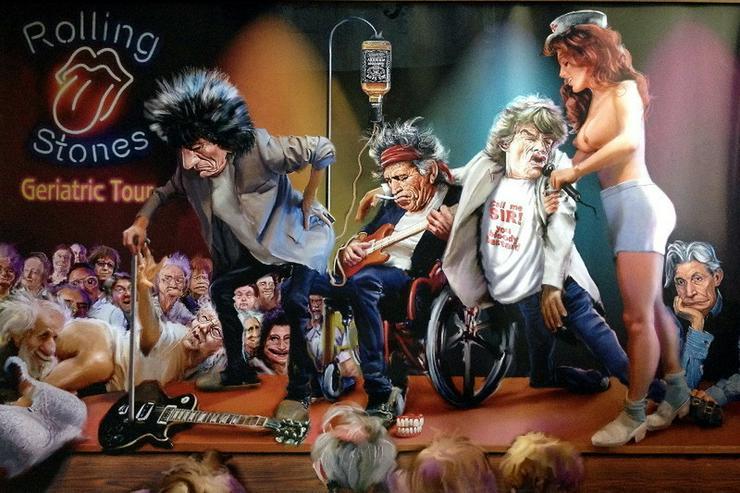 Leinwandbild - Rolling Stones