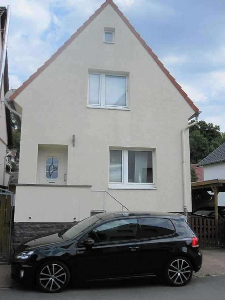 Solides Haus mit Garten an der Weser - Haus kaufen - Bild 1