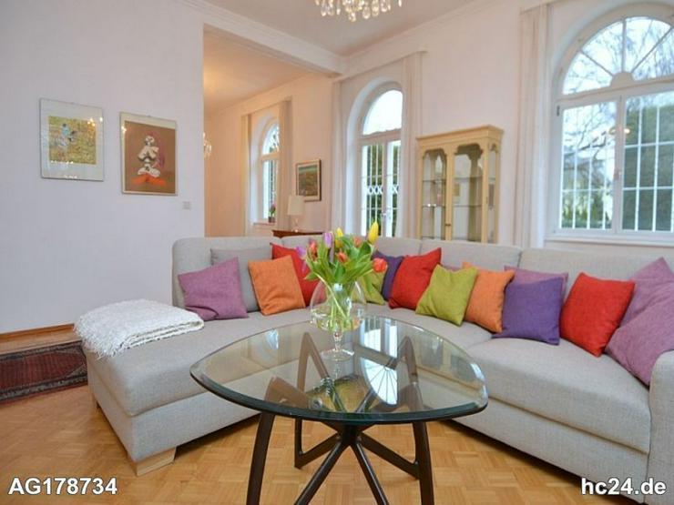 Möblierte 3-Zimmer Altbauwohnung mit Garten, Internet und zwei Schlafzimmern in Wiesbaden