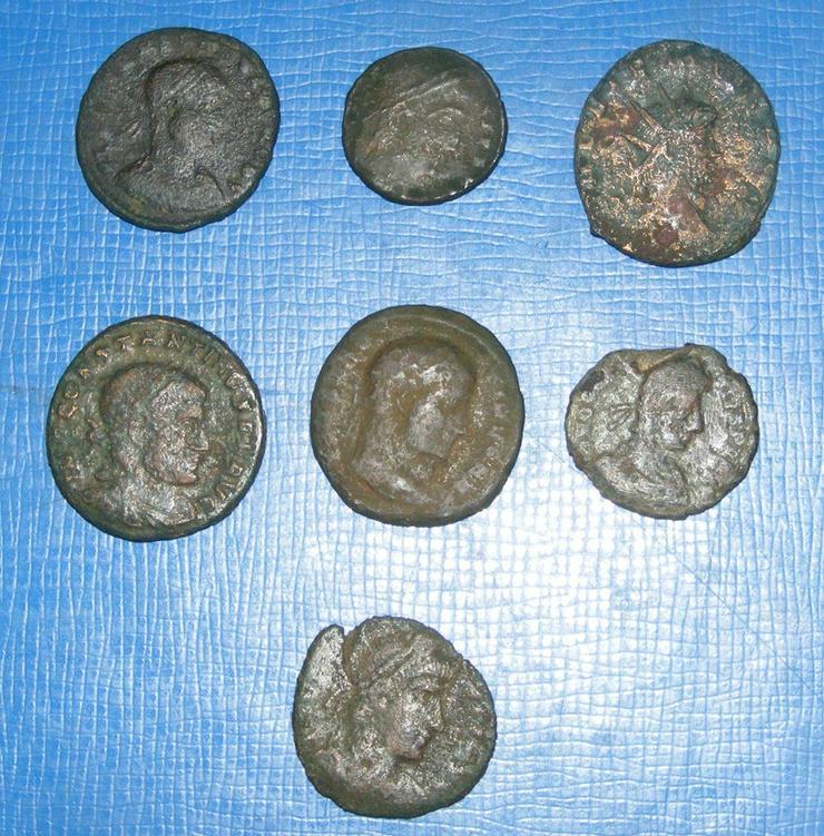 Bild 2: Römer echte antike Münzen Sammlung