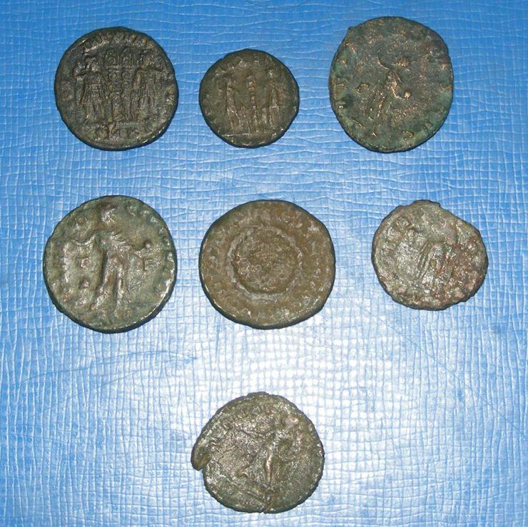 Bild 3: Römer echte antike Münzen Sammlung