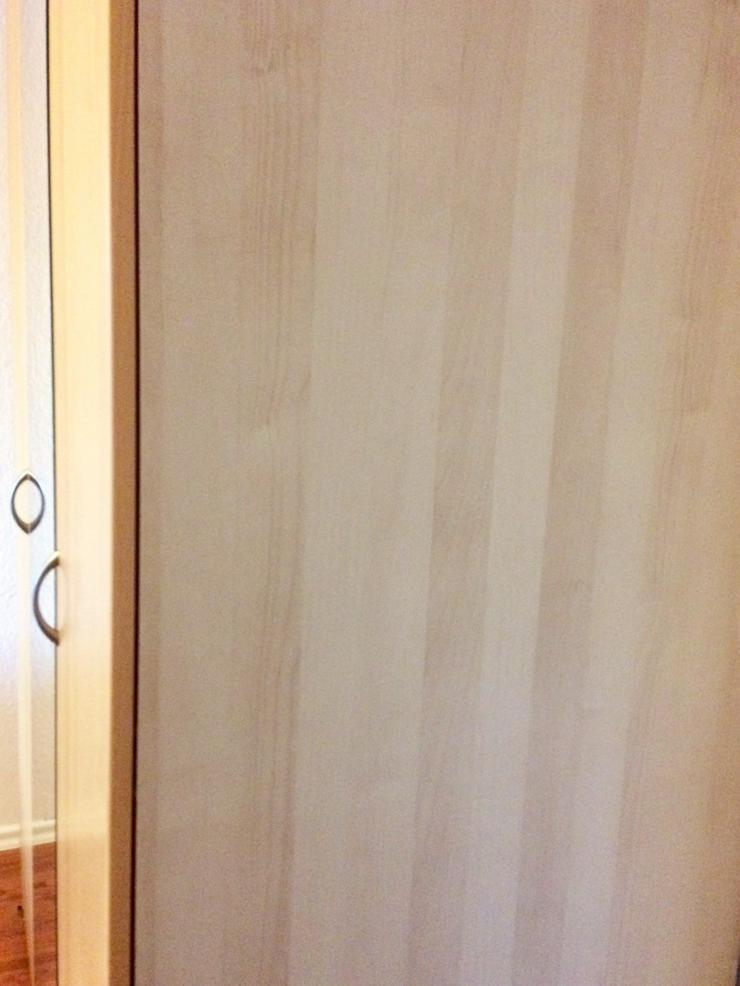 Bild 3: PAX Kleiderschrank Birke 201x150x60 Spiegeltür