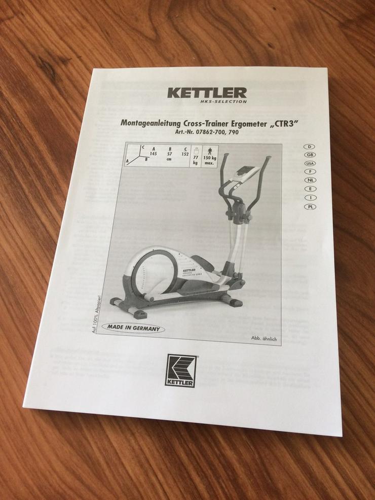 Bild 6: Crosstrainer Kettler CTR3 Top Zustand
