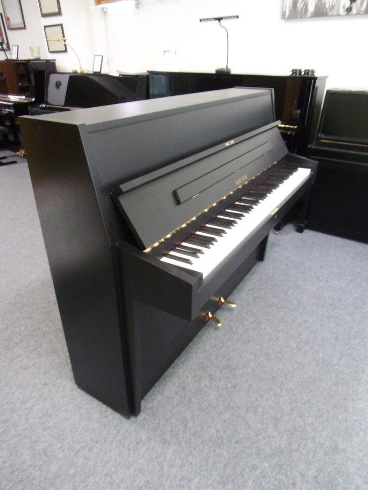 Bild 3: gebrauchtes SAUTER Klavier schwarz matt