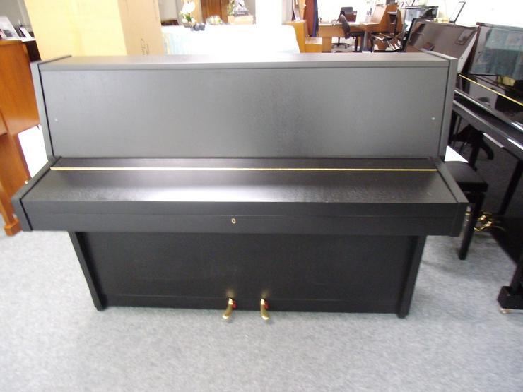 Bild 4: gebrauchtes SAUTER Klavier schwarz matt