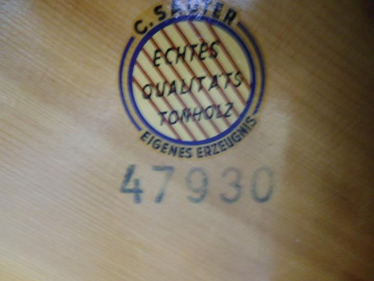 Bild 5: gebrauchtes SAUTER Klavier schwarz matt