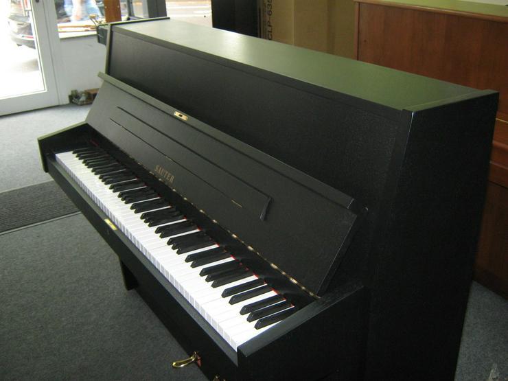 Bild 6: gebrauchtes SAUTER Klavier schwarz matt