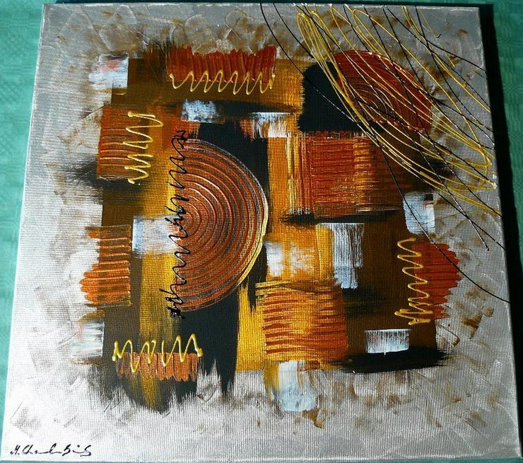 Acryl auf Leinwand, Komposition (B042) - Gemälde & Zeichnungen - Bild 1