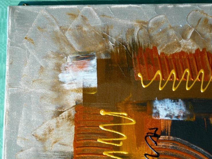 Bild 2: Acryl auf Leinwand, Komposition (B042)