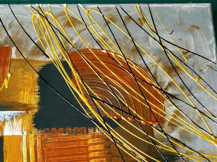 Bild 3: Acryl auf Leinwand, Komposition (B042)