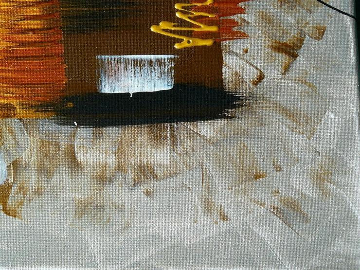 Bild 4: Acryl auf Leinwand, Komposition (B042)