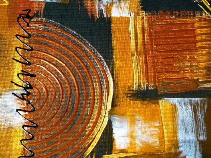 Bild 5: Acryl auf Leinwand, Komposition (B042)