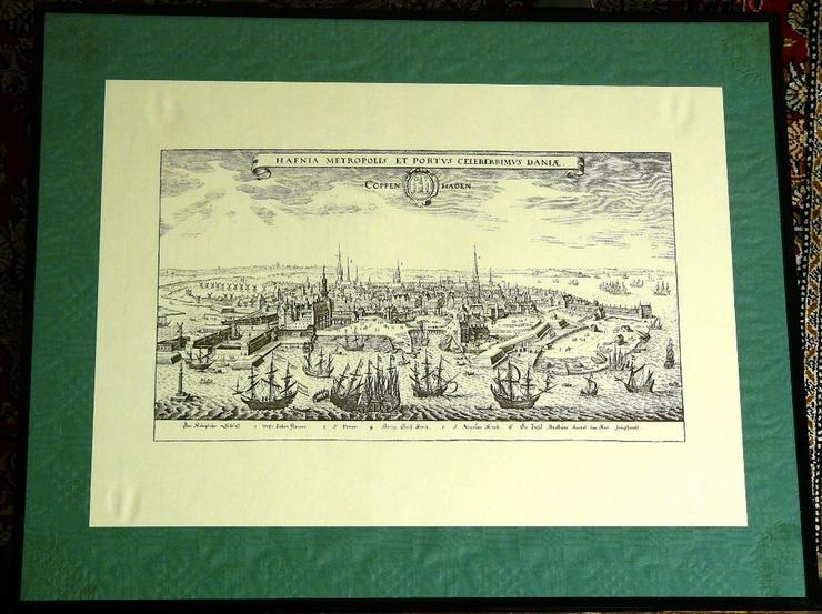 Kupferstich von Kopenhagen (B057) - Poster, Drucke & Fotos - Bild 1