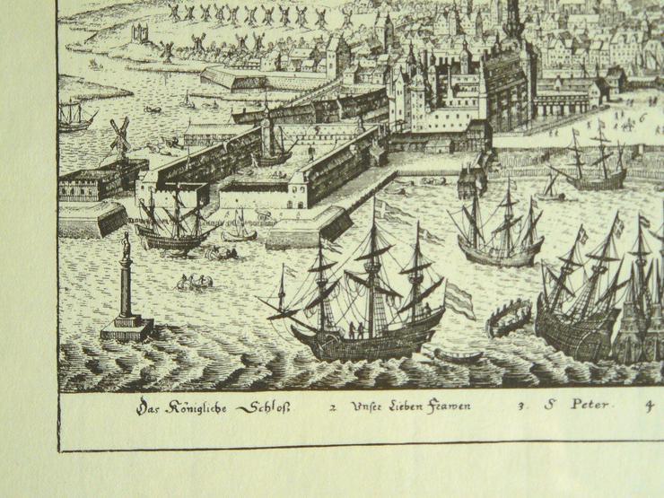 Bild 2: Kupferstich von Kopenhagen (B057)
