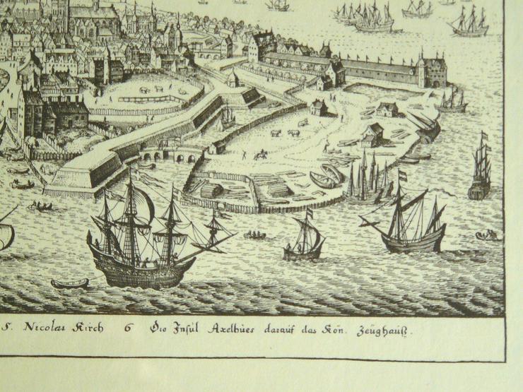 Bild 3: Kupferstich von Kopenhagen (B057)