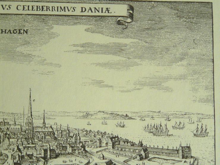 Bild 5: Kupferstich von Kopenhagen (B057)