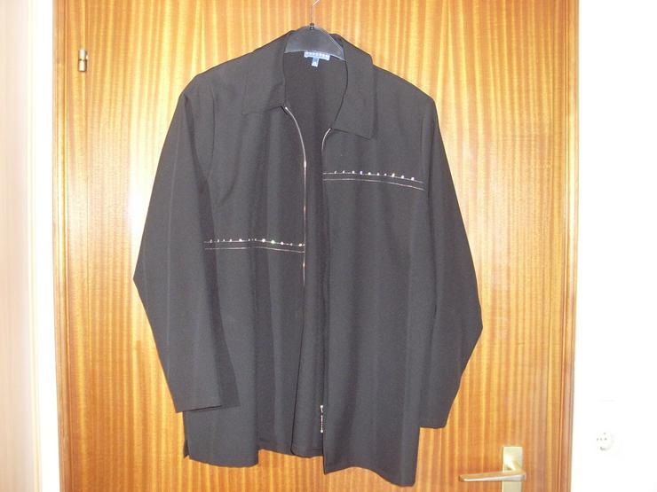 Damen Jacke Blazer schwarz Gr. 44/46 - Größen 44-46 / L - Bild 1