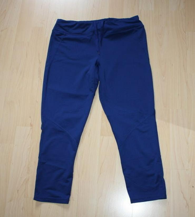 Damen Laufhose Laufleggings Fitness Tights blau