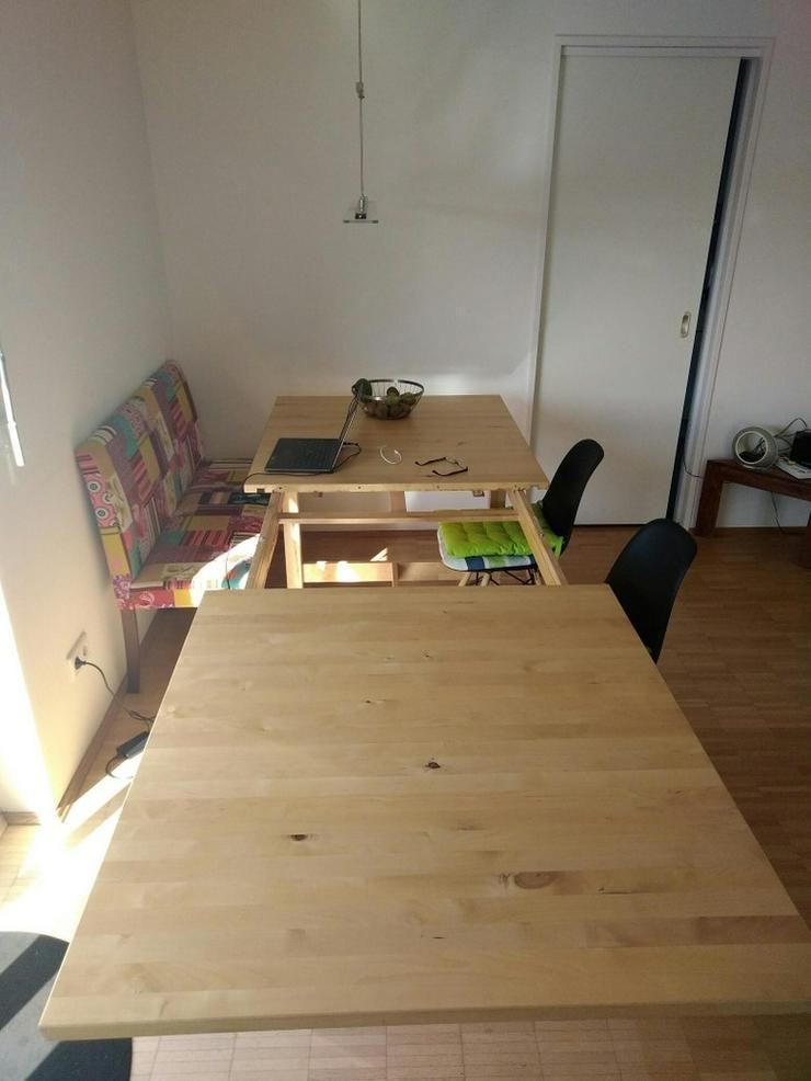 Bild 2: Esstisch, Ausziehbar, Birke