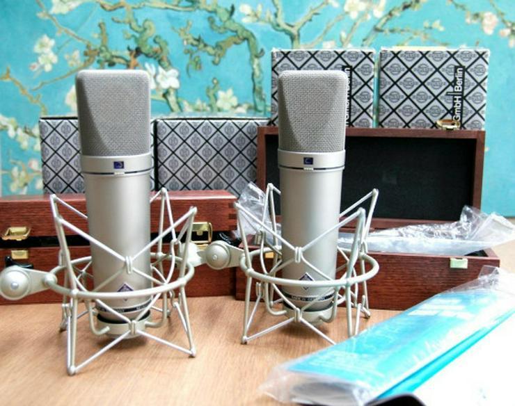 Neumann U87 Ai Studiomikrofon 2x