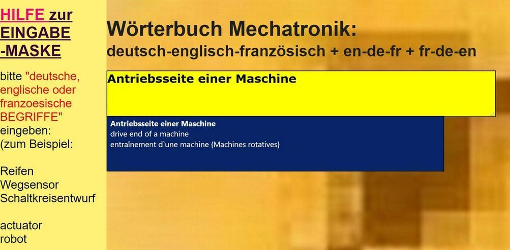 english-french Glossary (technical translators)