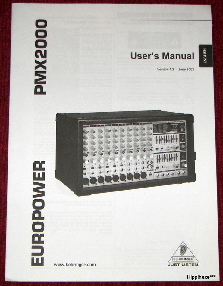 Bild 2: Biete verschiedene Bedienungsanleitungen / User`s Manual in deutsch und weiteren Sprachen