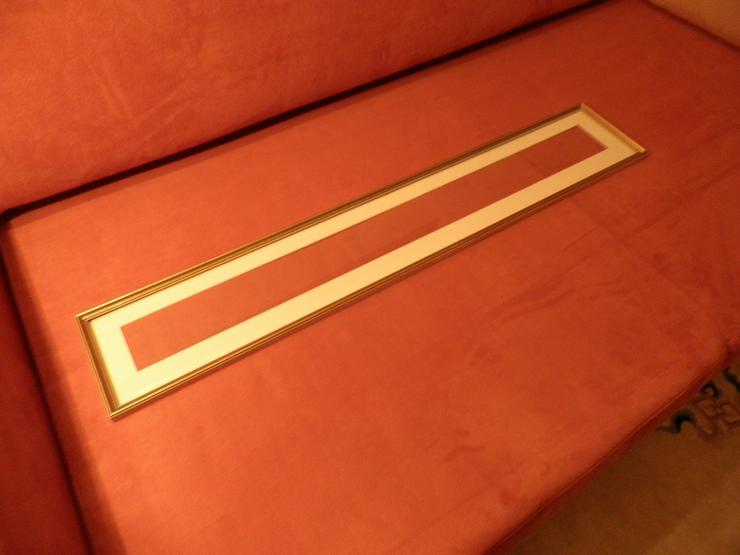 Holzrahmen Rahmen - goldfarbig