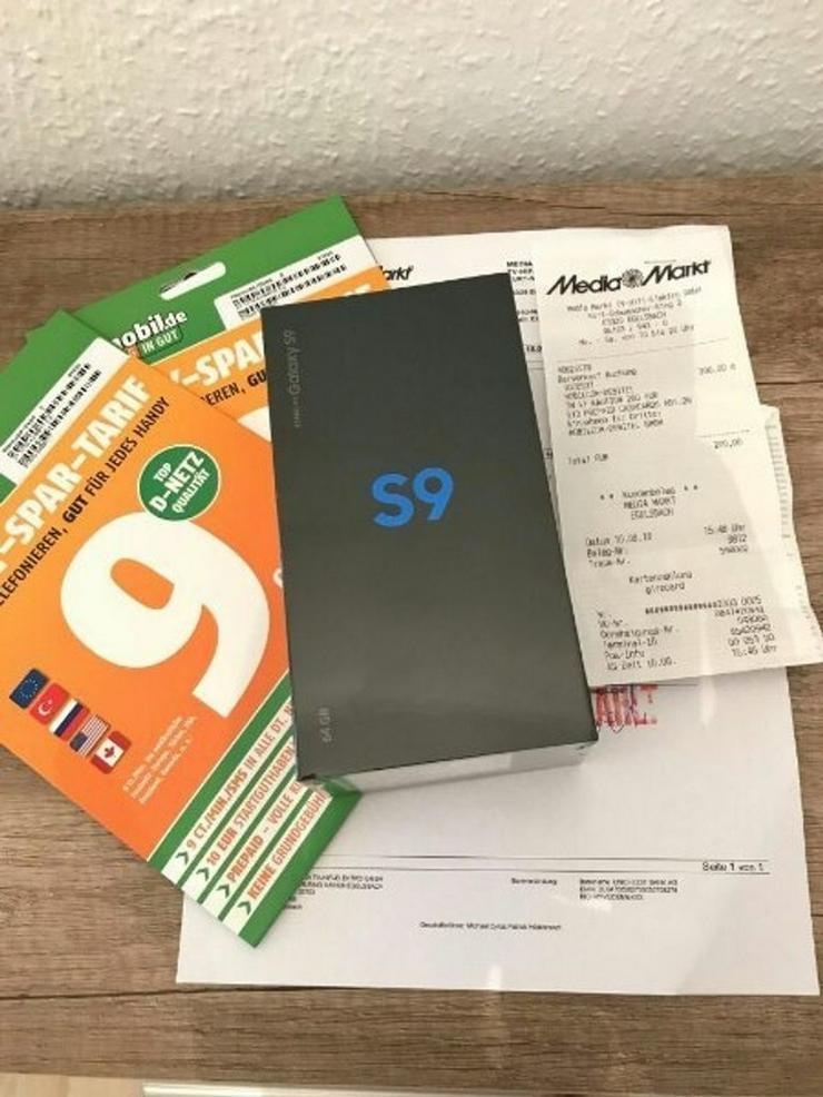 Samsung Galaxy s9 plus Schwarz