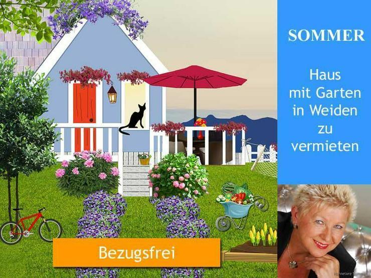 Weiden - Haus mit Garten Nähe Mühlweg zu vermieten